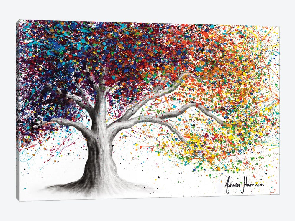 The Colour Of Dreams by Ashvin Harrison 1-piece Canvas Art Print