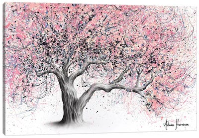 Taffy Blossom Tree Canvas Art Print