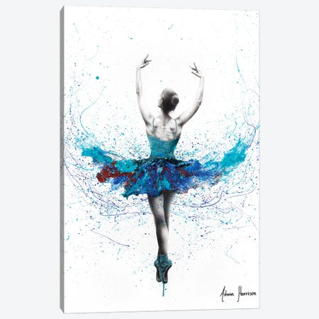 Floating Lake Ballet Canvas Print #VIN471} by Ashvin Harrison Canvas Wall Art
