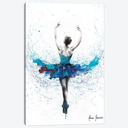 Floating Lake Ballet Canvas Print #VIN471} by Ashvin Harrison Canvas Wall Art