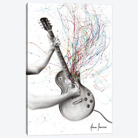 The Star Guitar Canvas Print #VIN472} by Ashvin Harrison Canvas Wall Art