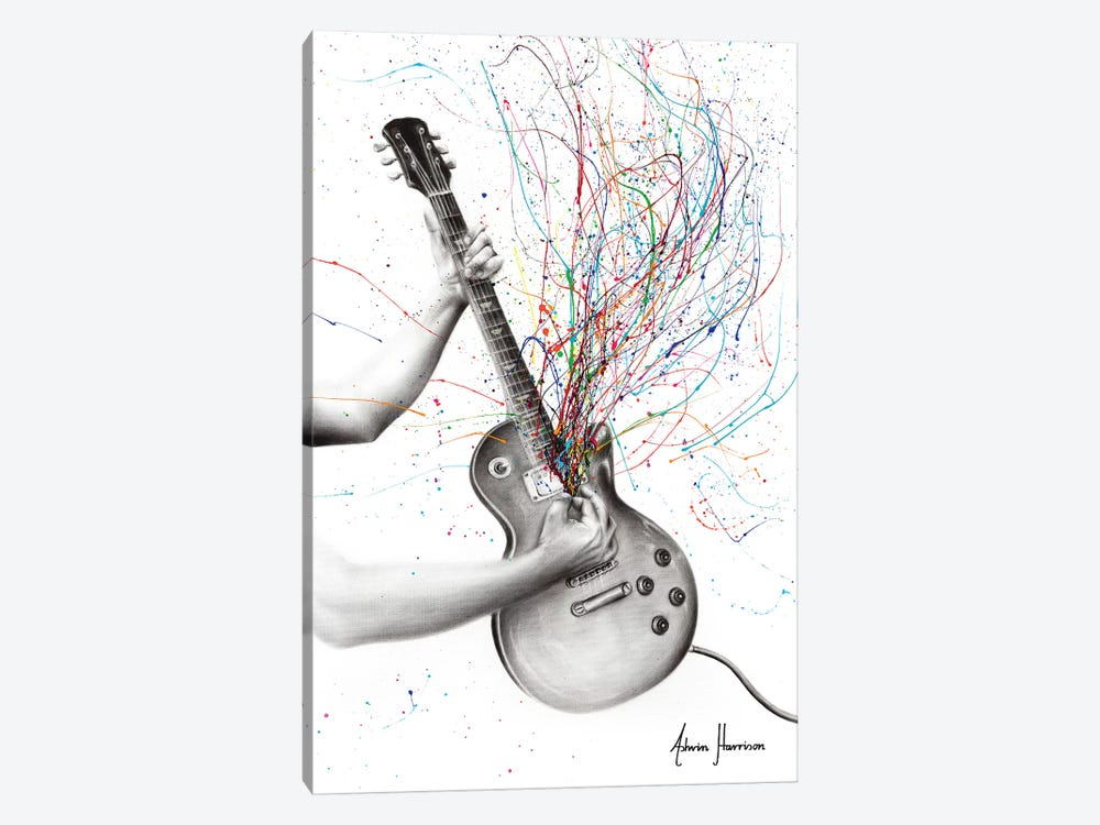 The Star Guitar by Ashvin Harrison 1-piece Canvas Art