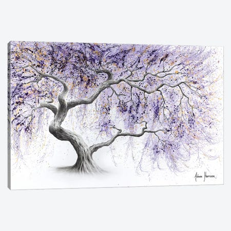 Purple Prosperity Tree Canvas Print #VIN476} by Ashvin Harrison Canvas Print