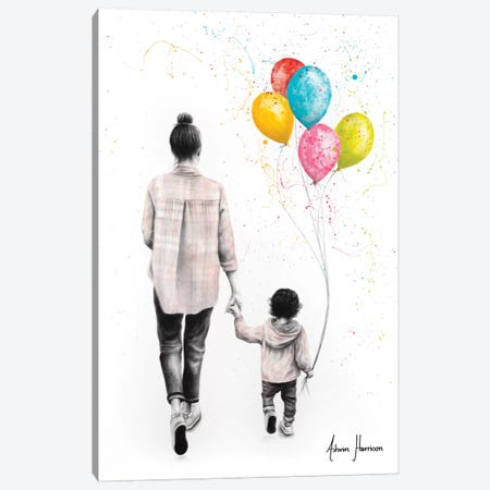 A Beautiful Day Together Canvas Print #VIN478} by Ashvin Harrison Canvas Artwork