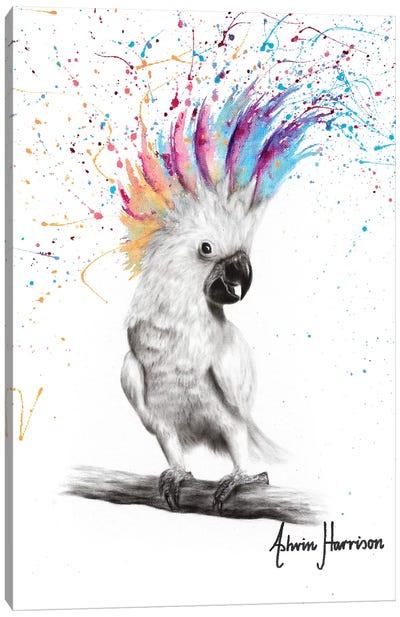 Punk Cockatoo Canvas Art Print