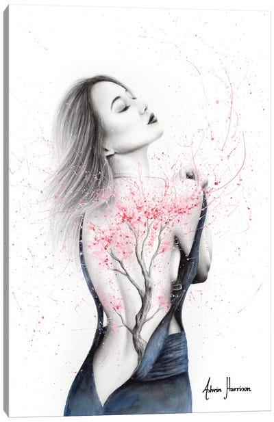 Her Blossom Canvas Art Print