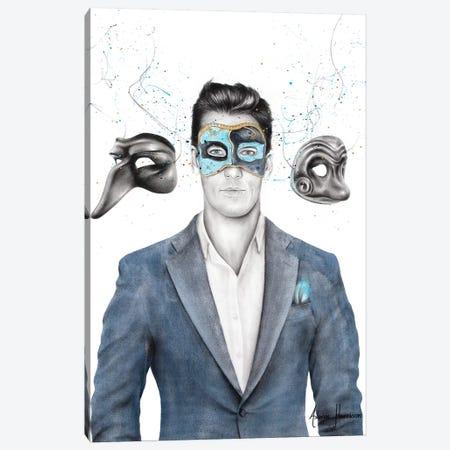 A Man Of Masks Canvas Print #VIN489} by Ashvin Harrison Canvas Art Print