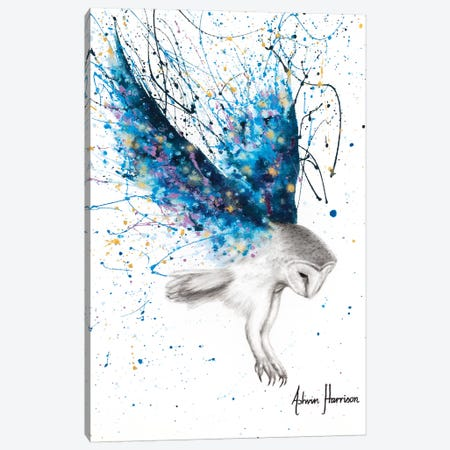 The Spirit Owl Canvas Print #VIN491} by Ashvin Harrison Canvas Artwork