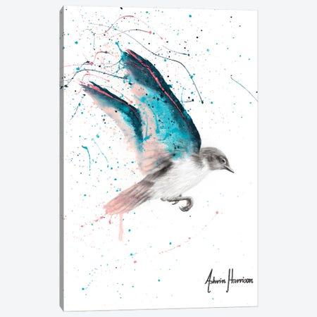 November Storm Bird Canvas Print #VIN493} by Ashvin Harrison Canvas Wall Art