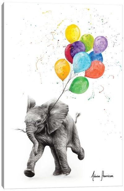 Elephant Freedom Canvas Art Print