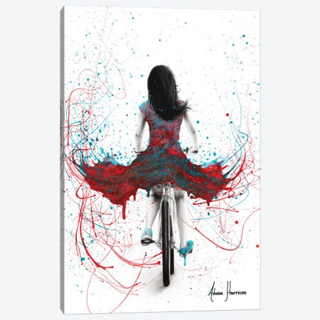 Her Ocean And Fire Ride Canvas Print #VIN502} by Ashvin Harrison Canvas Artwork