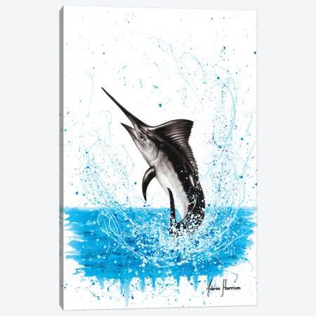 Dancing Marlin Canvas Print #VIN504} by Ashvin Harrison Canvas Print