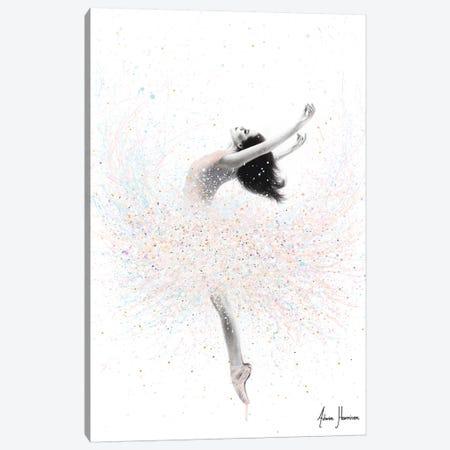Snow Lake Ballerina 3-Piece Canvas #VIN507} by Ashvin Harrison Canvas Print