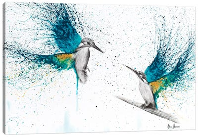 Kingfisher Memories Canvas Art Print