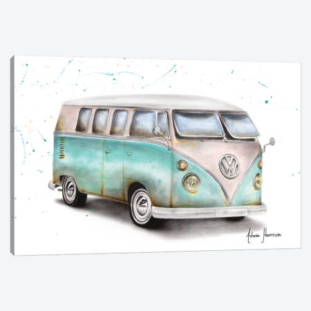 Beach Day Canvas Print #VIN510} by Ashvin Harrison Art Print