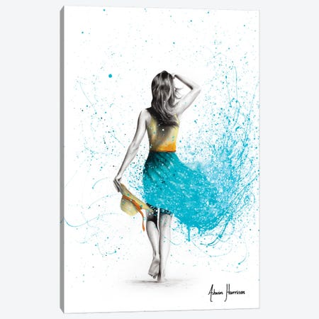 Beach Escape Canvas Print #VIN512} by Ashvin Harrison Canvas Print