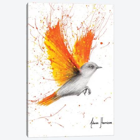 Citrus Season Bird Canvas Print #VIN515} by Ashvin Harrison Canvas Art