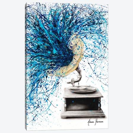 Feel The Music Canvas Print #VIN516} by Ashvin Harrison Canvas Wall Art
