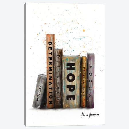 The Books Of Success Canvas Print #VIN519} by Ashvin Harrison Canvas Print