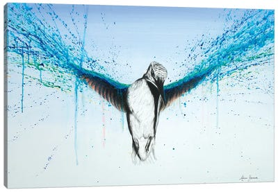 Kingfisher Rise Canvas Art Print