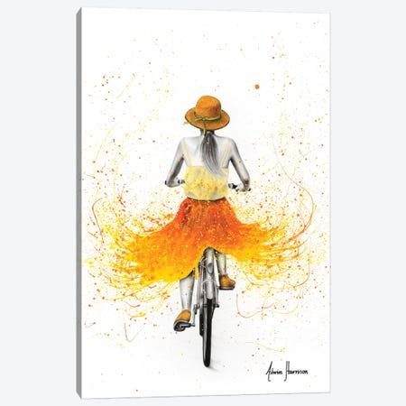 Summer Breeze Bicycle Canvas Print #VIN520} by Ashvin Harrison Canvas Artwork