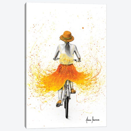 Summer Breeze Bicycle Canvas Print #VIN520} by Ashvin Harrison Canvas Artwork