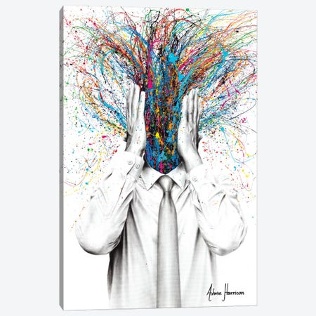 Mindfulness Canvas Print #VIN521} by Ashvin Harrison Canvas Wall Art