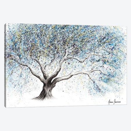 Frosty Whisper Tree Canvas Print #VIN523} by Ashvin Harrison Canvas Art