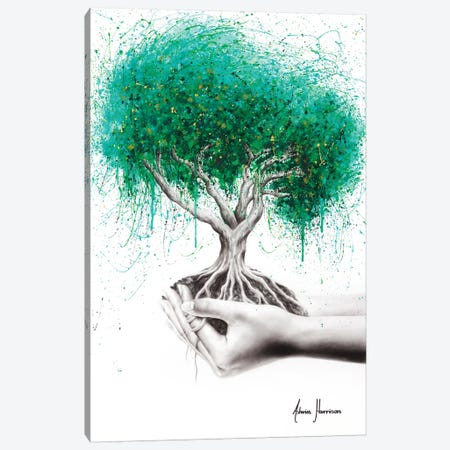 In Our Hands Canvas Print #VIN527} by Ashvin Harrison Canvas Art Print