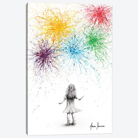 Painting Dreams Canvas Print #VIN528} by Ashvin Harrison Canvas Artwork