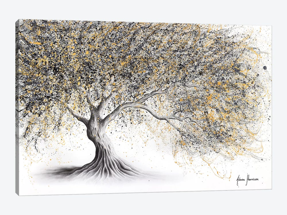 Golden Onyx Tree by Ashvin Harrison 1-piece Canvas Art Print