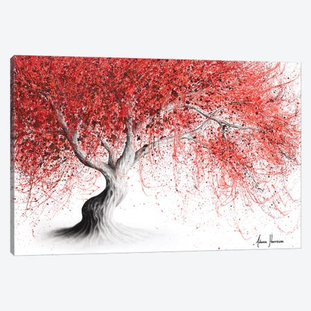 Strawberry Fall Tree Canvas Print #VIN532} by Ashvin Harrison Canvas Art Print