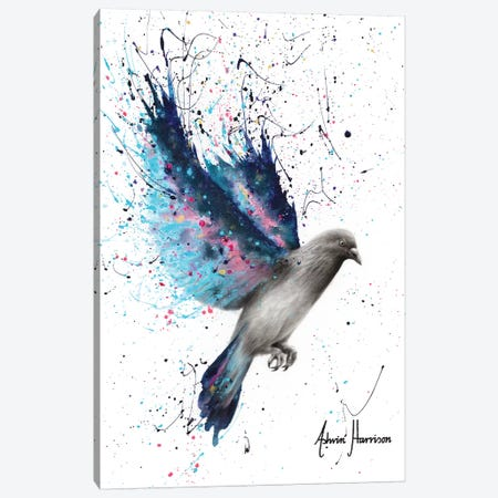 Twinkle Wings 3-Piece Canvas #VIN536} by Ashvin Harrison Canvas Wall Art
