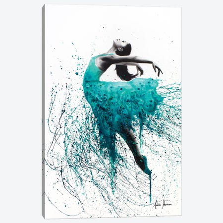 Kingfisher Woman Canvas Print #VIN53} by Ashvin Harrison Canvas Art