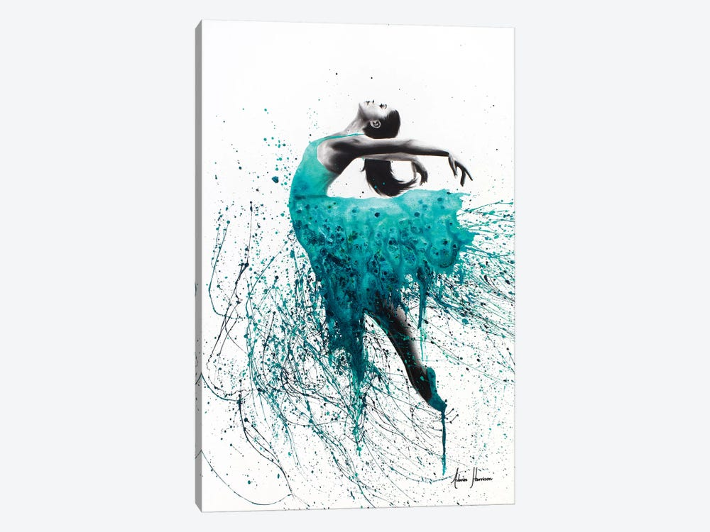 Kingfisher Woman by Ashvin Harrison 1-piece Art Print