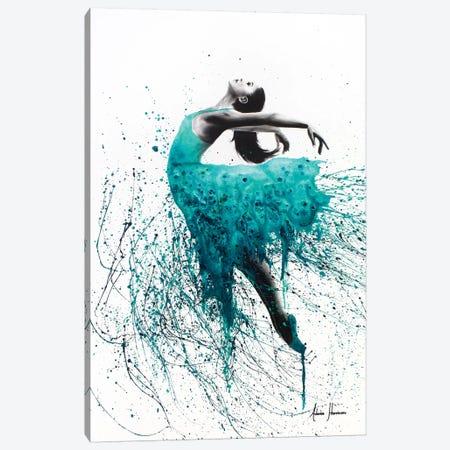 Kingfisher Woman Canvas Print #VIN53} by Ashvin Harrison Canvas Art