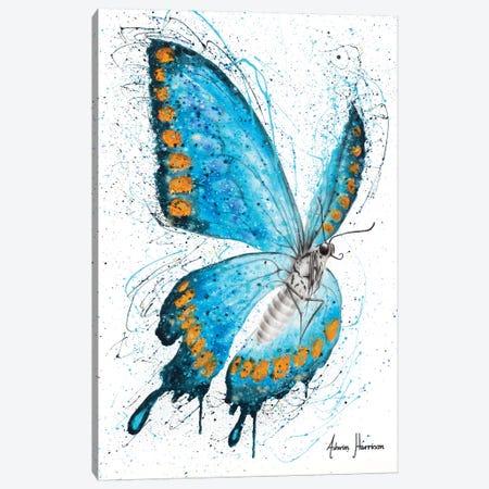 Fresh Morning Butterfly Canvas Print #VIN540} by Ashvin Harrison Canvas Wall Art