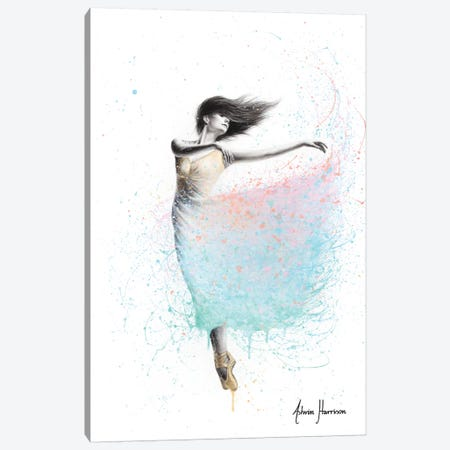 Sunshine Sparkel Dance Canvas Print #VIN542} by Ashvin Harrison Canvas Art