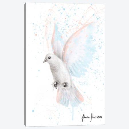 Peace Dove Canvas Print #VIN543} by Ashvin Harrison Canvas Art