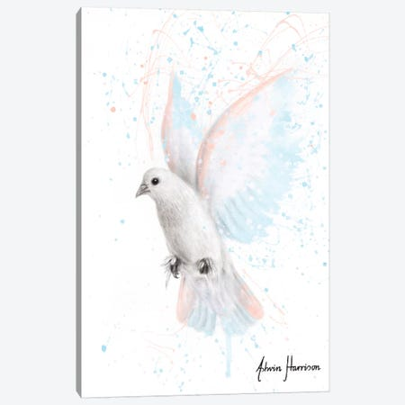 Peace Dove Canvas Print #VIN543} by Ashvin Harrison Canvas Art