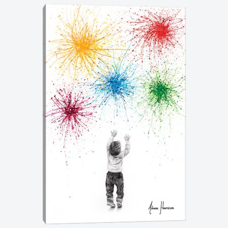 Youthful Happiness Canvas Print #VIN545} by Ashvin Harrison Canvas Print