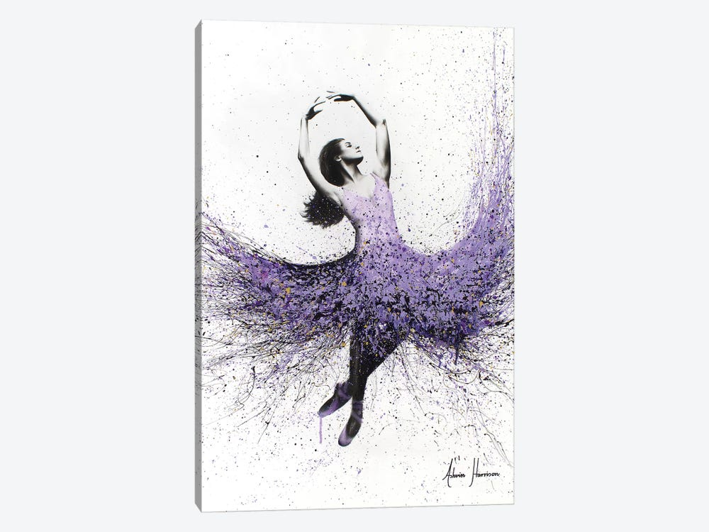 Lavender Dance by Ashvin Harrison 1-piece Canvas Artwork