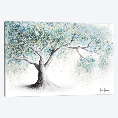 Gentle Frost Tree Canvas Print #VIN550} by Ashvin Harrison Canvas Art Print