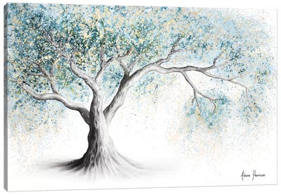Gentle Frost Tree Canvas Art Print
