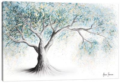 Gentle Frost Tree Canvas Art Print