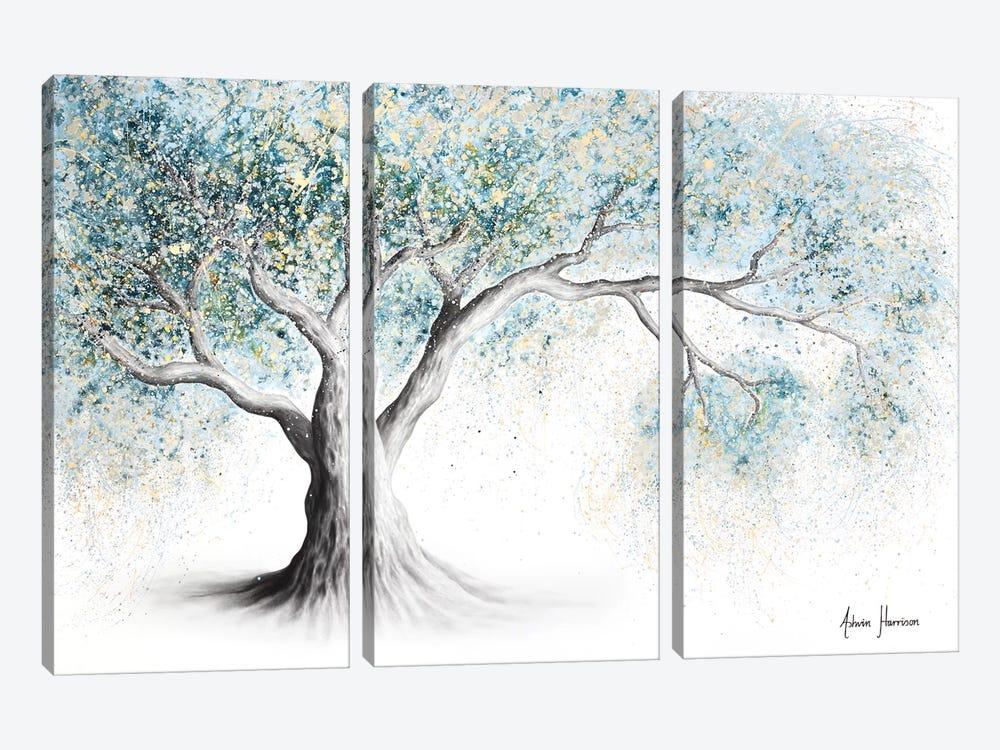 Gentle Frost Tree by Ashvin Harrison 3-piece Canvas Print