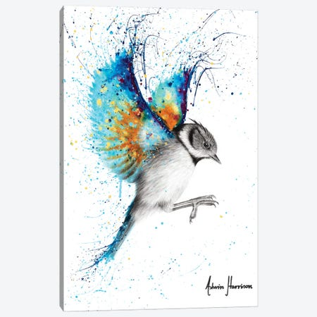 Golden Sunset Bird Canvas Print #VIN551} by Ashvin Harrison Canvas Art Print