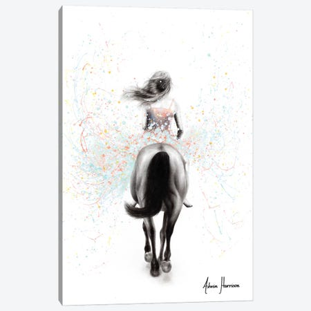 Finding Her Way Canvas Print #VIN554} by Ashvin Harrison Canvas Artwork