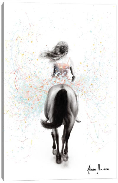 Finding Her Way Canvas Art Print
