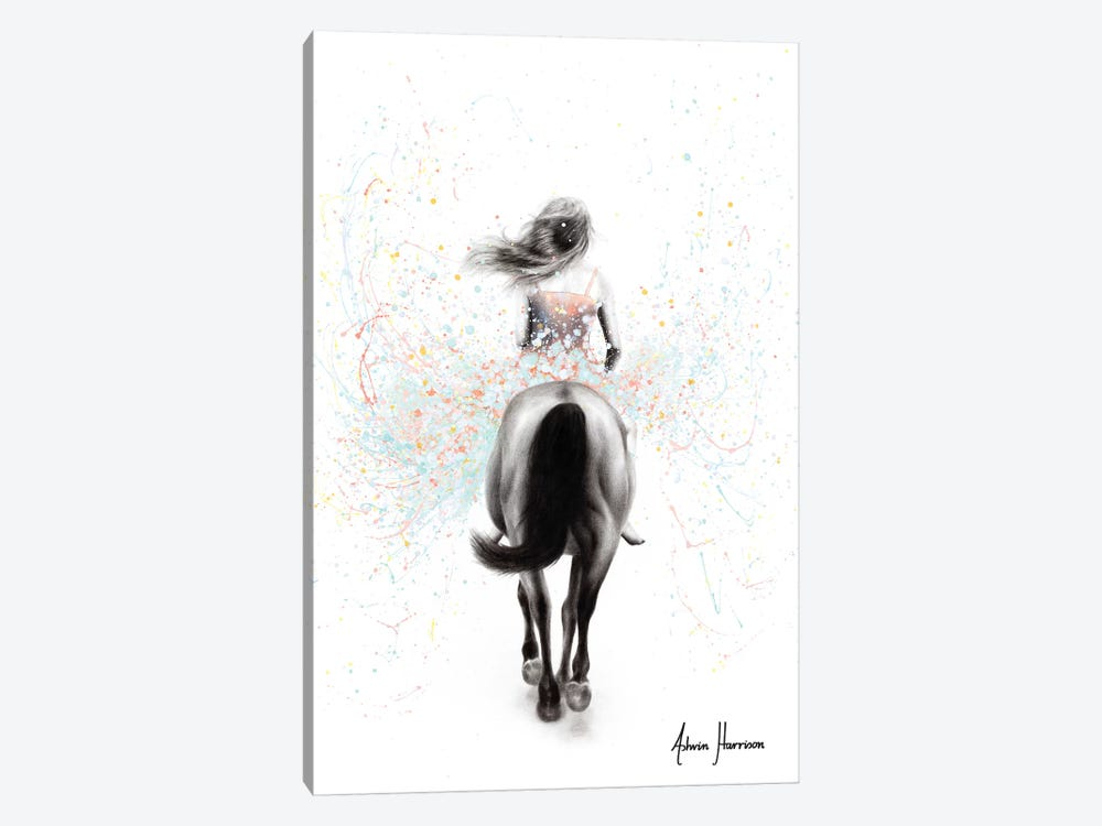 Finding Her Way by Ashvin Harrison 1-piece Canvas Print